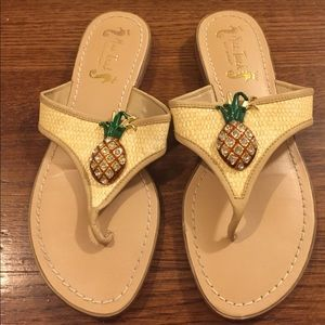 Shoes - Miss Trish for Target pineapple sandals Size 7.5